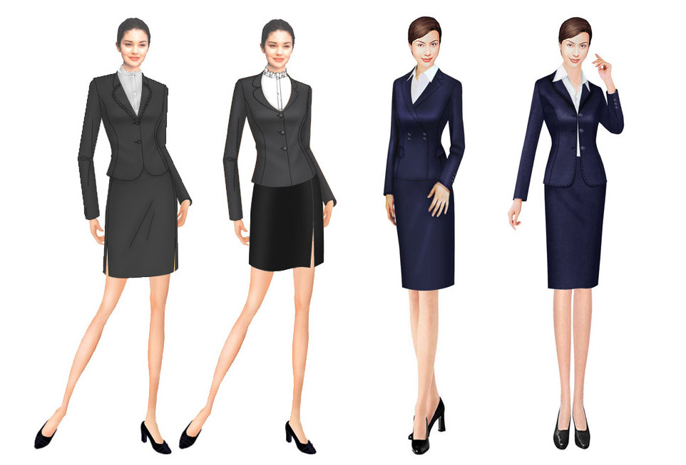 时尚似乎永远是一种时髦,与安安静静、温温柔柔的职业装走着不同的两条路线,深圳职业装定制固定的模式与单一的款式会使职业女性的着装方式陷入一种沉闷的风格中,从而掩盖了女性特有的风采,其实,在职业装上也可以找到灵动与时尚的感觉。  时尚设计推陈出新纵观去年以来的几次职业装展示会,我们不难发现,职业装订制产品呈现出三个鲜明的特点。新潮流改变了传统职业装单一品种现象,由于过去人们在认识上的误区,认为职业装就是工作服,因此,面料单一,款式陈旧,而今季,新潮流多品种精纺呢绒面料层出不穷,如:新开发的高支花呢类、轻薄型面