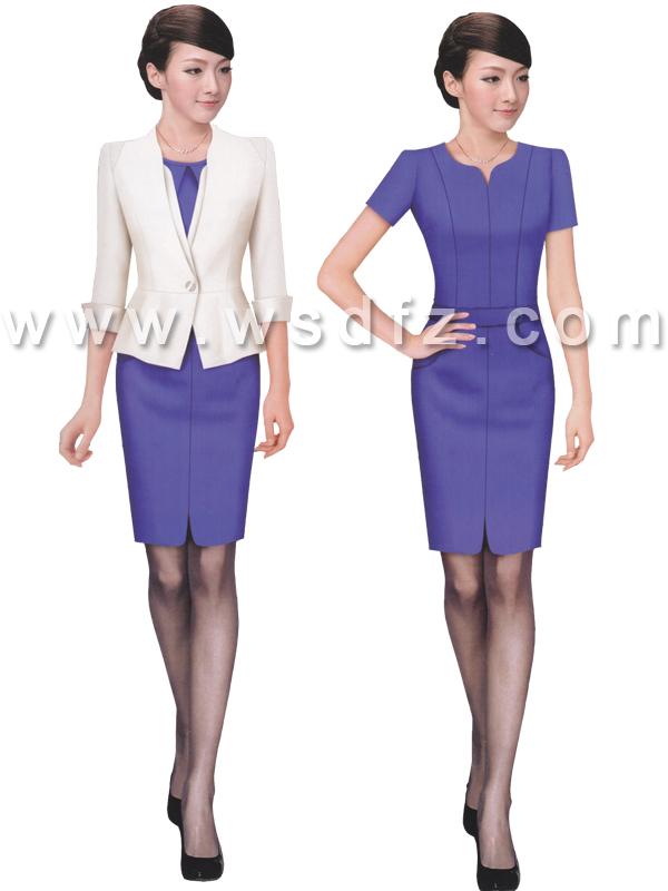 OL风格修身显瘦中裙-wsd046