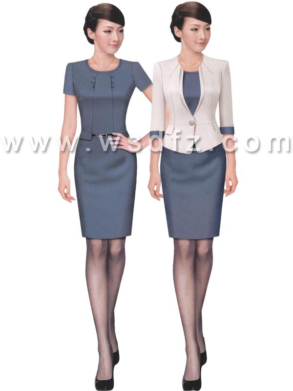 短袖夏装连衣裙-wsd049