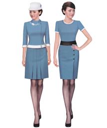 工作服工装女装套裙-wsd043