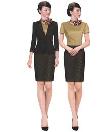 高端职业连衣裙-wsd051